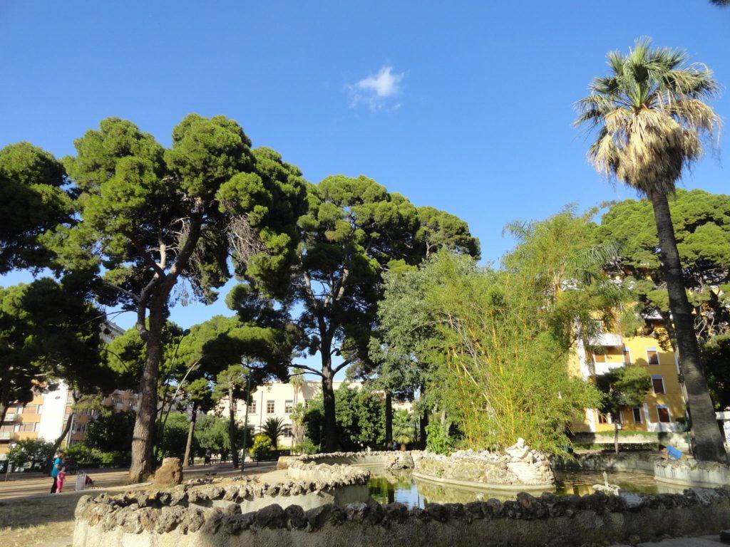 Il Giardino Inglese, il polmone verde di Palermo